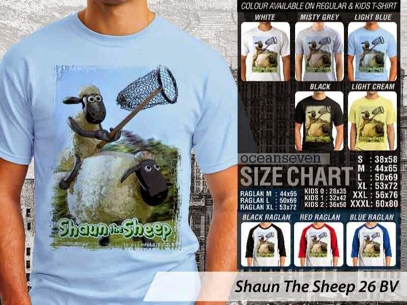 Kaos Movie Shaun The Sheep 26 distro ocean seven