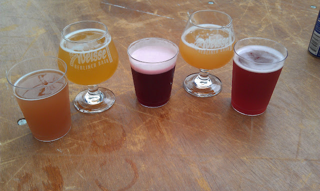 L-R: Peg's Bloody Berliner, Wakefield Moral Imperative Watermelon, Wakefield Emmit Fitz-Hume, Wakefield Rabenga Fruta, Peg's BA Pink Streets