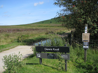 Dennis Knoll - the start of the walk