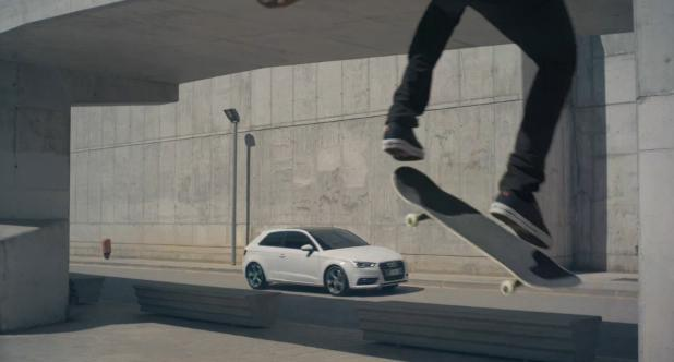 "New Audi Commercial ""Shifts Everything Ahead"""