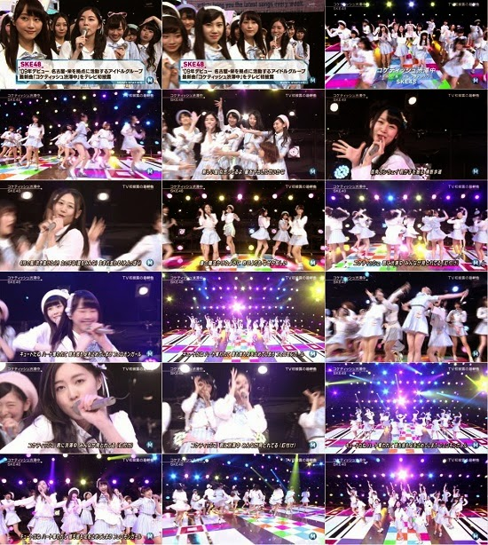 (TV-Music)(1080i) SKE48 Part – Music Station 150220