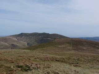 Looking back to Lonscale Fell and Blencathra