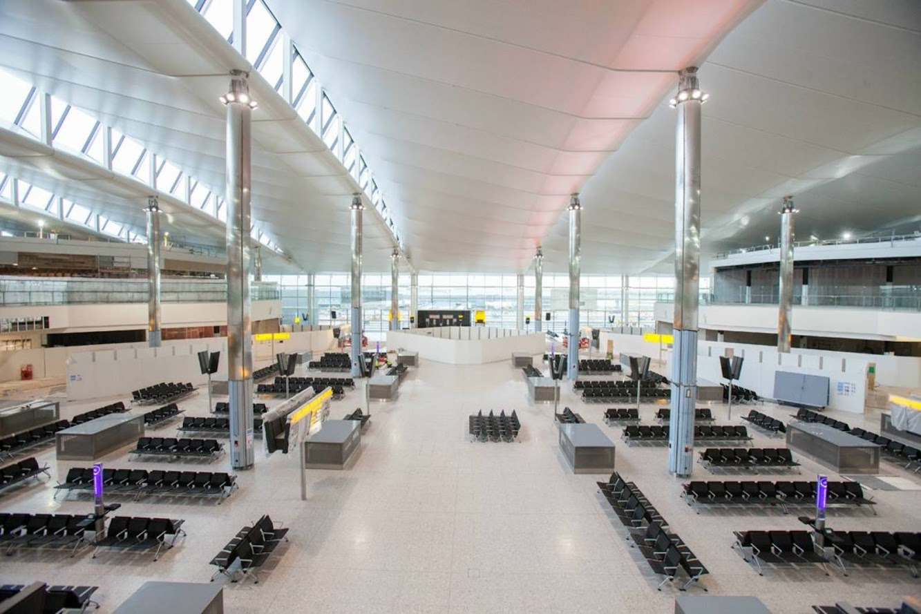 Heathrow New Terminal 2 by Luis Vidal Architects