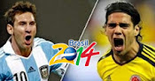 Argentina vs. Colombia en Vivo - Eliminatorias 2014