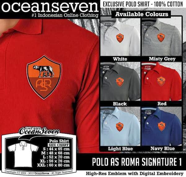 POLO AS Roma Signature distro ocean seven