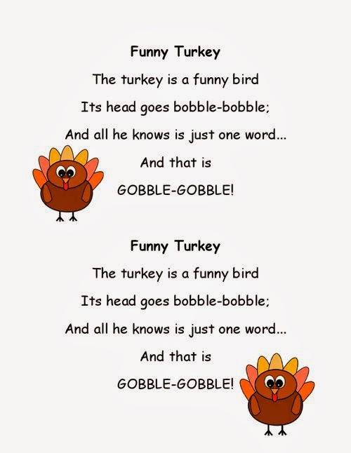 Lovely Thanksgiving Poems For Kids