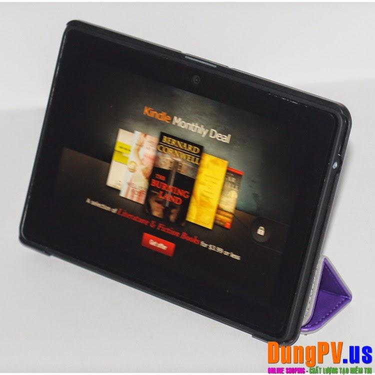 Bao da, dán màn hình máy tính bảng amazon Kindle các loại