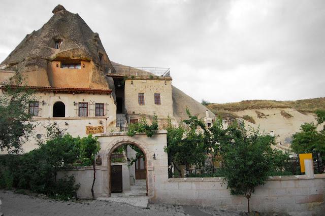 Турция: Город Гереме, жилой дом