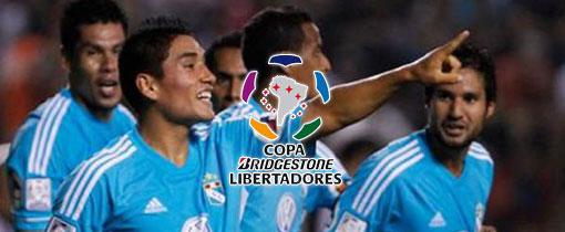 Sporting Cristal vs Libertad en Vivo - Copa Libertadores