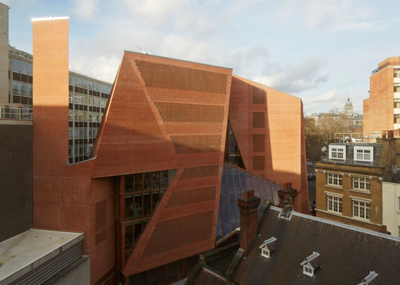 Londra, Regno Unito: Lse Saw Swee Hock Students' Centre by O'Donnell + Tuomey