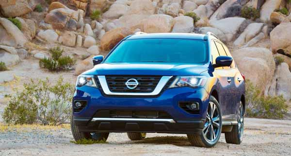 Update: 2017 Nissan Pathfinder as V-Motion styling, the foq light and more
