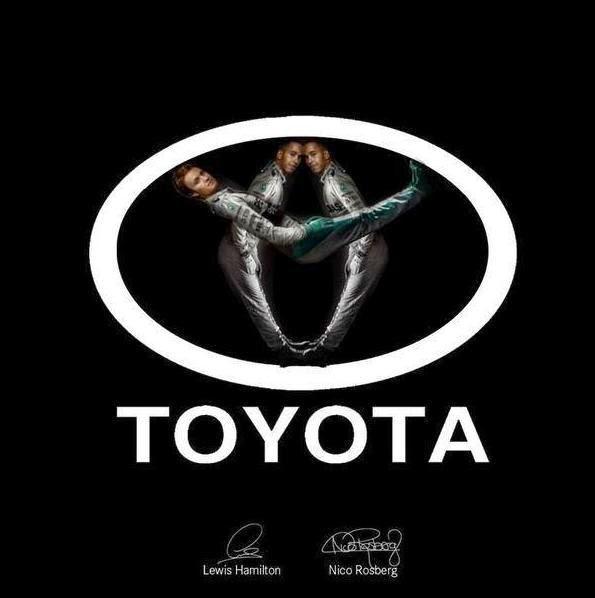 Льюис Хэмилтон и Нико Росберг - Формула Успеха Toyota