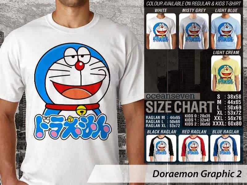 KAOS Doraemon 42 Manga Lucu distro ocean seven