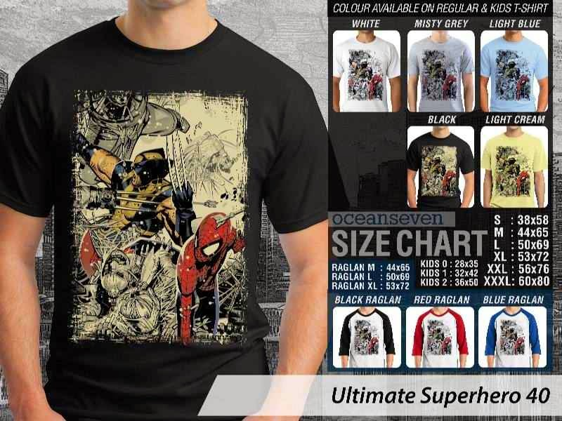 KAOS spiderman 40 Ultimate Superhero distro ocean seven