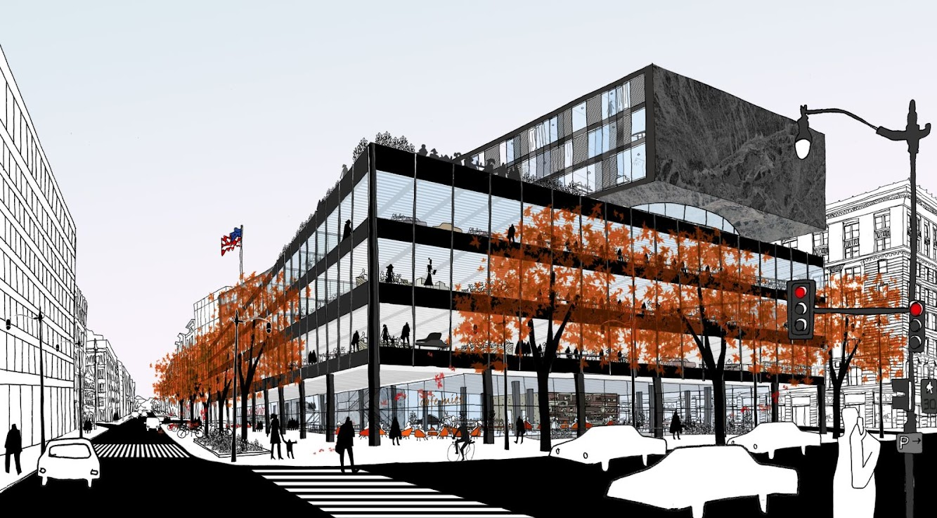 Washington, Distretto di Columbia, Stati Uniti: Mlk Jr. Memorial Library Renovation by Mecanoo
