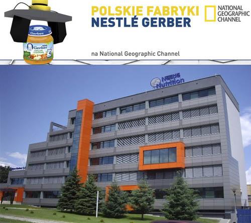 Polskie Fabryki: Nestle Gerber (2012) PL.TVRip.XviD / Lektor PL