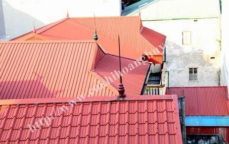 dịch vụ sửa chữa mái tôn giá tốt