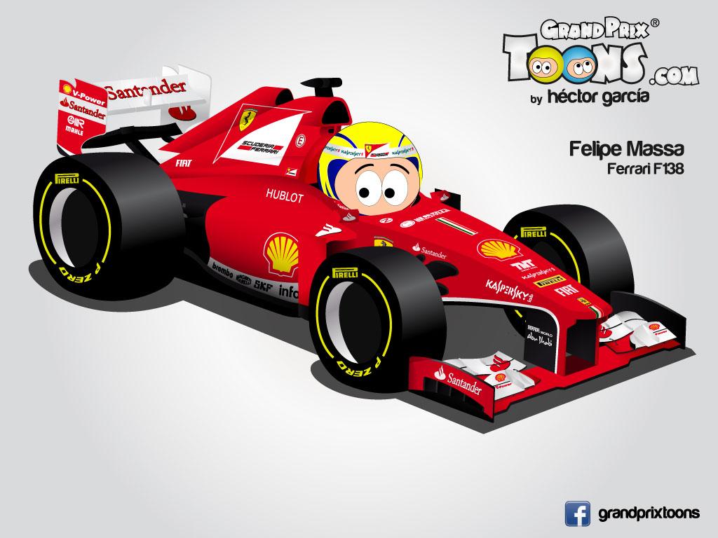 Фелипе Масса Ferrari F138 Grand Prix Toons 2013