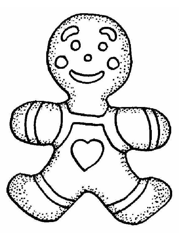 Gingerbread Man on Pinterest Gingerbread Man Activities  - gingerbread coloring page