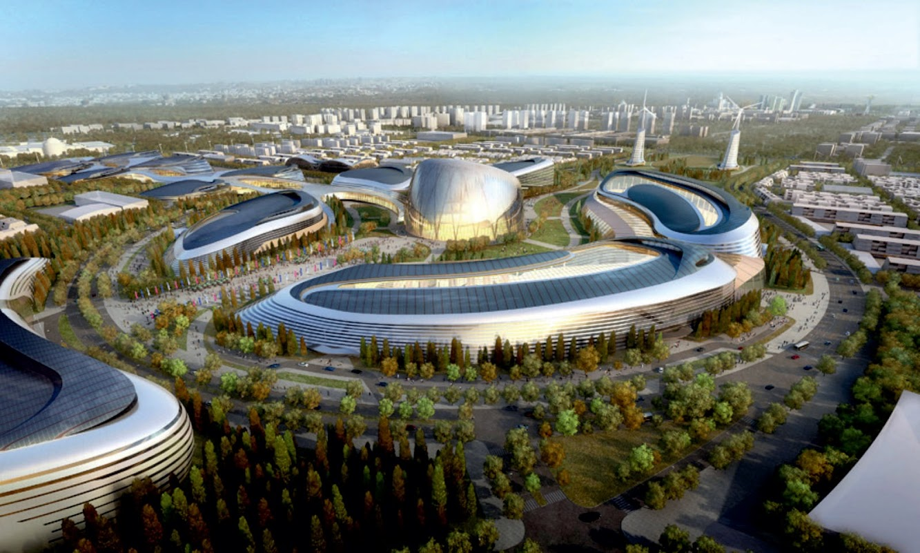 Astana, Kazakistan: World Expo 2017 Competition