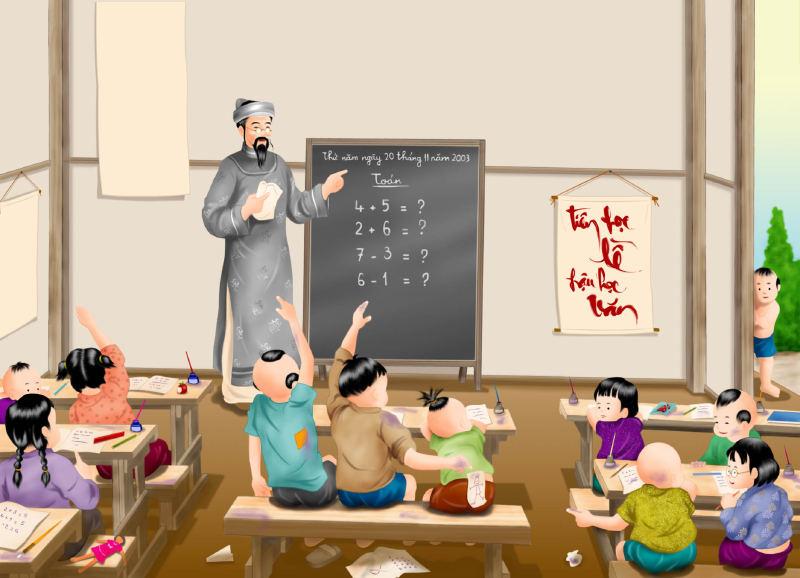 Những hình ảnh 20-11 về người Thầy ý nghĩa nhất