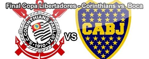 Corinthians vs. Boca en VIVO - Final Copa Libertadores 2012