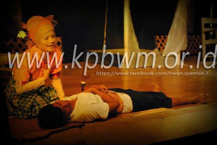 saat kacoq mati dibunuh andi musdar teater mandar
