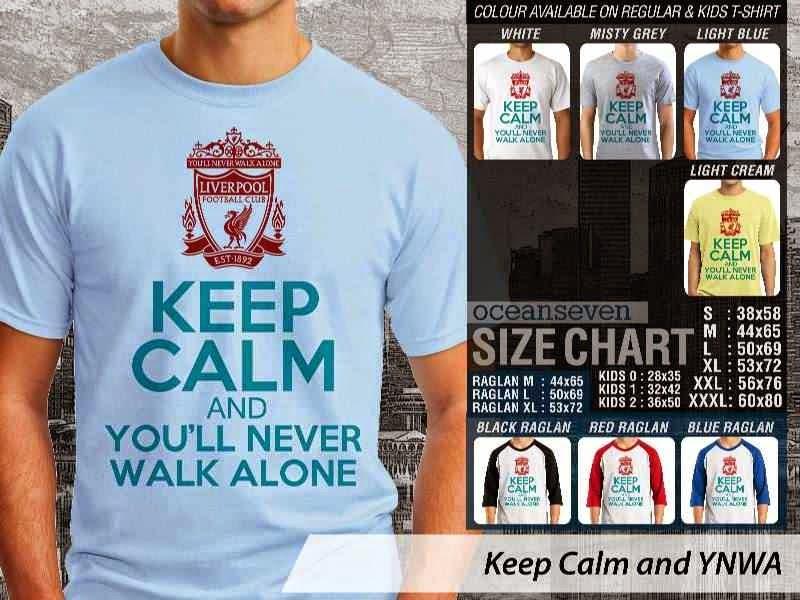 KAOS Liverpool Keep Calm Series distro ocean seven