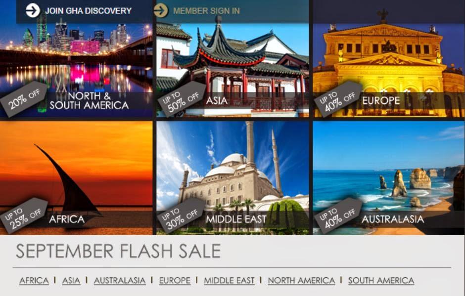 Anantara安纳塔拉、Marco Polo馬哥孛羅、AVANI hotels安凡妮9月份「Flash Sale」,全線酒店閃銷,低至5折,只限3日。