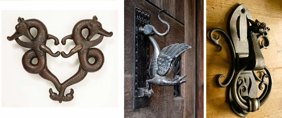 Dark roasted blend esoteric door knockers door handles - Dragon door knockers for sale ...
