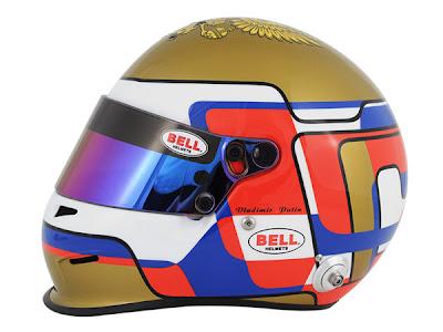 шлем Bell Владимира Путина