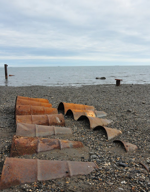 Beaufort Sea & Oil Barrels: July 30, 2010 - Mile 0