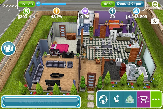 Cose La Camera Da Letto Padronale : Cose da gamer the sims free play villa padronale
