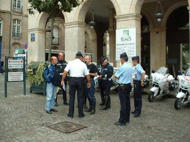 Manifestation FFMC 35 18 septembre 2004