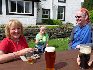 ... and drinks at the Kirkstile Inn ... very welcoming after a great day on the fells.