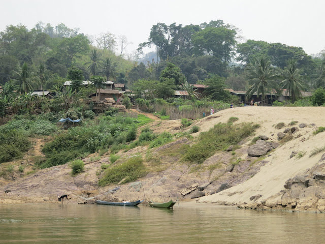 A typical riverside village.