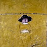 Carlo Mattioli | Anna con il cappello del nonno | 1976