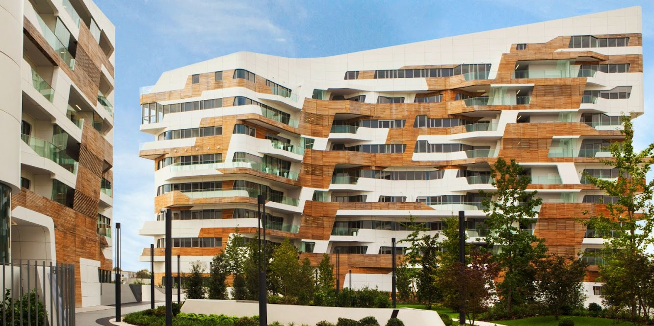 Residence: CITY LIFE RESIDENCES by ZAHA HADID ARCHITECTS