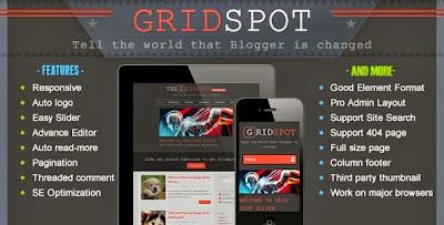 Grid Spot blogger templates
