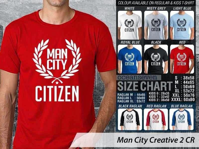 KAOS Man City Manchester City 13 Liga Premier Inggris distro ocean seven