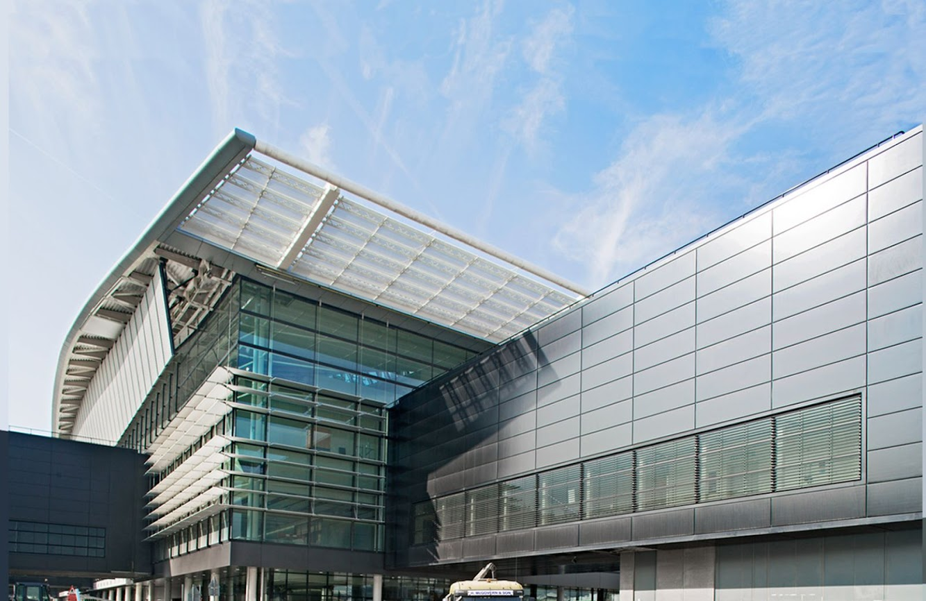 Heathrow Airport (LHR), Terminal 1, Greater London Tw6 1AP, Regno Unito: Heathrow New Terminal 2 by Luis Vidal + Architects