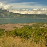 widok na jezioro Batur