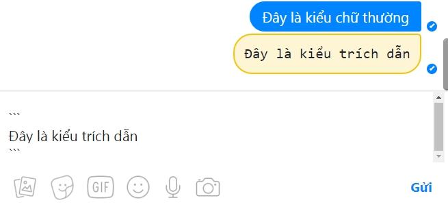 kieu trich dan tren facebook messenger - Hướng Dẫn Đổi Kiểu Chữ Đẹp trên FaceBook Messenger