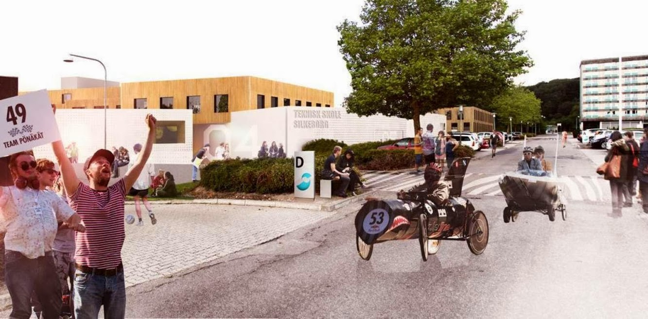 Henning Larsen Wins Technical College Silkeborg Competition