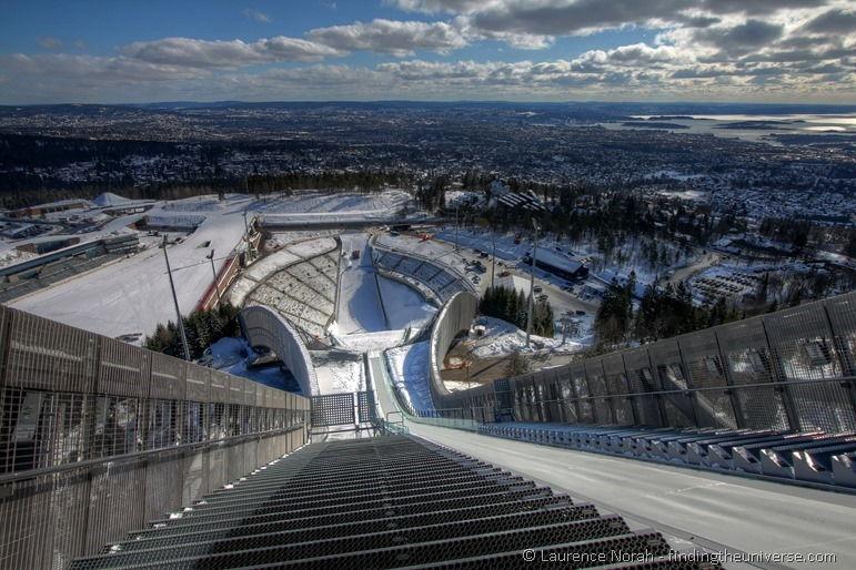 Aussicht vom Holmenkollen, Oslo