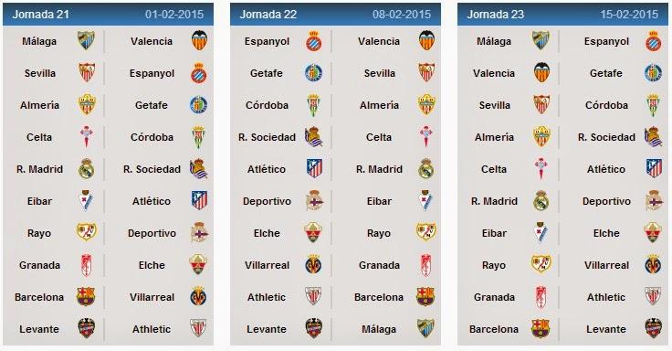 Spanish League Fixtures La Liga Schedule - La liga table standings