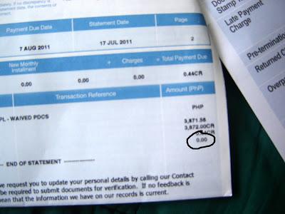 Loan Billing Statement