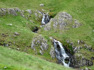 Sour Milk Gill upper waterfalls
