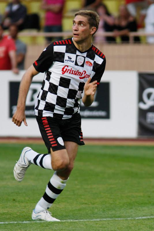 Виталий Петров на благотворительном футбольном матче в Монте-Карло 2011