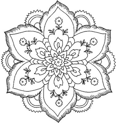 pattern coloring pages for adults - Printable Design Coloring Pages for Adults